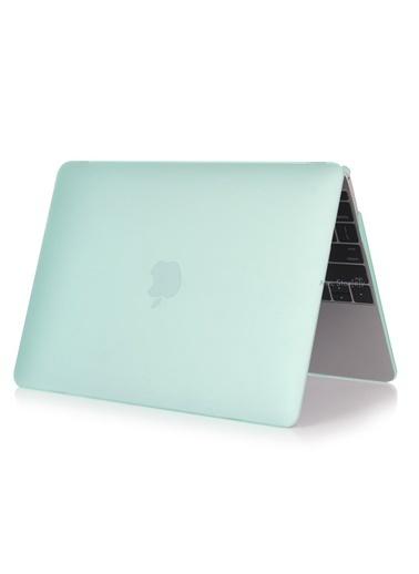 """Mcstorey MacBook Pro A1286 15.4"""" Kılıf Kapak Koruyucu Ruberized Hard Incase Mat Haki"""